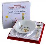 Coffret Assiette Et Panadiere Godron Le Petit Prince 4808